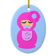 baby doll ornaments keepsake ornaments zazzle