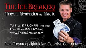 local magicians for hire client information for hiring rich ferguson