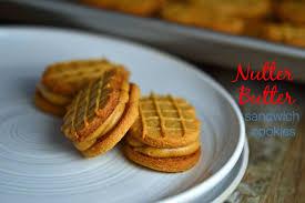 gluten free nutter butter style sandwich cookies
