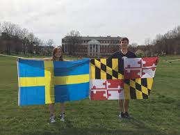 Maryland Flag Socks The University Of Maryland Salutes R Sweden And The Swedish People