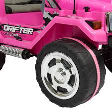 cool pink jeep best choice products 12v ride on car truck w remote control