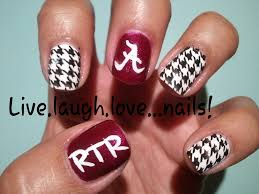 best 25 alabama nails ideas on pinterest alabama nail art