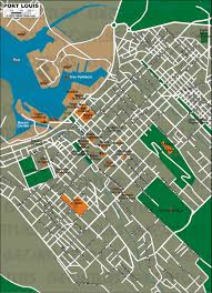 Port Of Los Angeles Map by Geoatlas City Maps Port Louis Map City Illustrator Fully