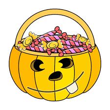 candy bag halloween clipart u2013 halloween wizard