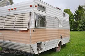 my vintage travel trailer the beginning u2013 the joy of caking