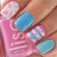 60 glitter nail art designs blue glitter nails white polish and
