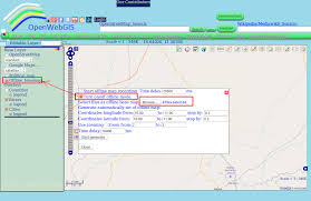 Google Maps By Coordinates Openwebgis Is Free Online Gis One Of The Methods To Create And
