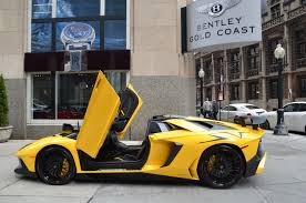 lamborghini car gold 2017 lamborghini aventador lp 750 4 sv roadster stock 06016 for