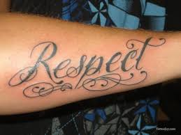 16 best respect word tattoos images on pinterest my family