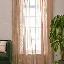 Plum And Bow Curtains Plum Bow Jazmin Embroidered Curtain From Outfitters