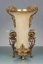 golden sandstone flower vase exquisite ornamental vase with