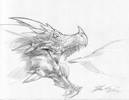 dragon sketch by steves3511 on deviantart