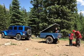 jeep trailer build trailer gallery compact camping concepts