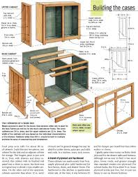 diy kitchen cabinets pdf build kitchen cabinets woodworking plan ofwoodworking