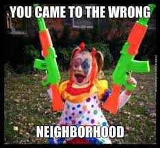 Creepy Clown Meme - the us is experiencing a scary clown epidemic yes really are