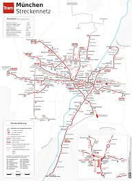 Munich Subway Map by Tram Tramway System In Munich Germany Foravisit Com