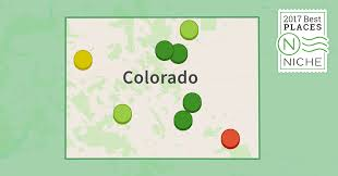 Map Of Colorado Cities And Towns 2017 Best Places To Retire In Colorado Niche