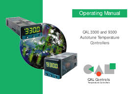 cal controls cal 3300 u0026 cal 9300 operating manual by veederline