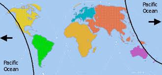 map world oceans the world s oceans