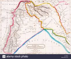 Show Me A Map Of Syria by Map Stock Photos U0026 Map Stock Images Alamy