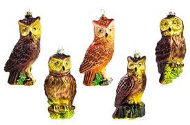 owl tree ornaments whimsical owls for your