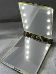 Mirrors With Lights Compact Mirror With Led Light 20 Trendy Interior Or Mannequin