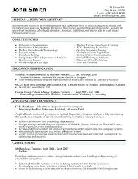 medical assistant resumes templates resume templates for medical