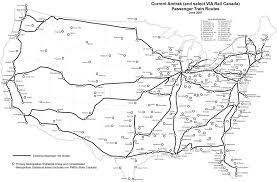 Amtrak System Map by Usa Rail Pass Lets Explore Amtrak Usa Railway Map Map Of American