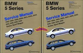 bmw shop manual service repair book e39 97 03 5 series e 39 ebay