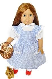 American Doll Halloween Costumes Amazon Halloween Dorothy Costume American Dolls