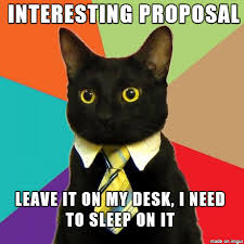 Proposal Meme - the best use of a business proposal meme guy