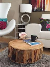 Tree Stump Side Table Reclaimed Wood Stump Table Potterybarn New Home Ideas 6