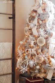 how to decorate a christmas tree ella claire