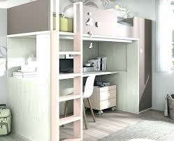 lit mezzanine ado avec bureau et rangement lit superposac avec bureau blacksale
