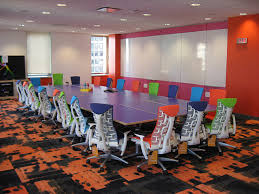 quicken loan conference room with herman miller embody chairs