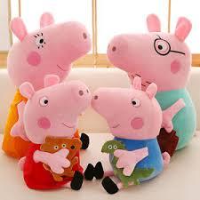 Peppa Pig Plush 4pcs Lot Peppa Pig Plush Toys Peppa George Pig Family Toys 12 8