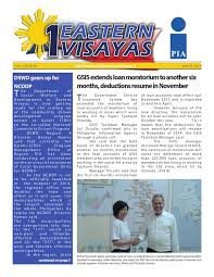 april 23 by 1 eastern visayas newsletter issuu