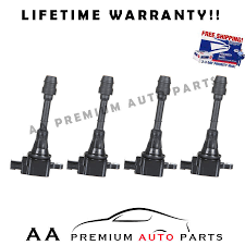 nissan altima 2005 qatar pack of 4 ignition coils for nissan sentra altima 2 5l ebay