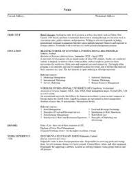 Effective Resume Writing Samples by Examples Of Resumes Resume Example Effective Sample For Special