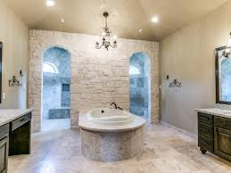 Master Bathroom Ideas Houzz by Custom Bathroom With Walk Through Shower Yep That U0027s What He