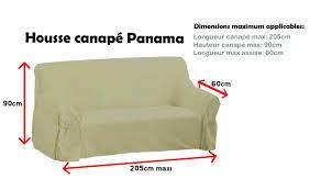 housse canapé 3 places avec accoudoir pas cher canape housse canape 3 place de canapac panama gris clair places