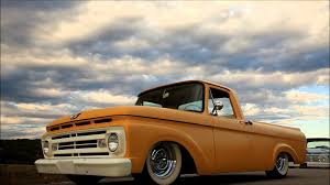 Classic Ford Truck Body Kits - 62 ford unibody pickup truck slammed