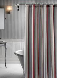 Fieldcrest Luxury Shower Curtain - spectrum grey ombre shower curtain bath decor bath ideas and bath