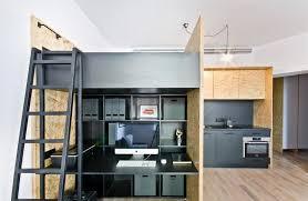 home design studio space multfunctional space brandburg design studio and apartment in 37sqm