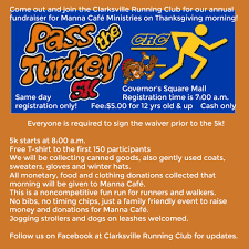 turkey run thanksgiving day pass the turkey 5k fun run home of steele