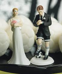 football wedding cake toppers football wedding cake toppers eilag