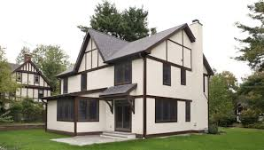 tudor style home lasley brahaney architecture construction