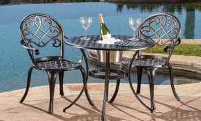 Outdoor Bistro Chairs Bistro Tables For Outdoor Dining Overstock Com