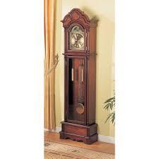Grandfather Clock Weights Howard Miller Richardson I Grandfather Curio Clock Hayneedle