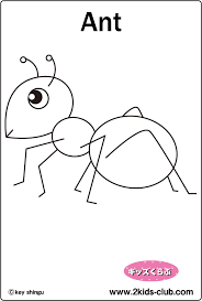 3 impressive ant coloring page ngbasic com